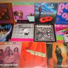 Discos de vinilo: LOTE 11 SINGLE MUSICA DISCOTECA. Lote 242230120