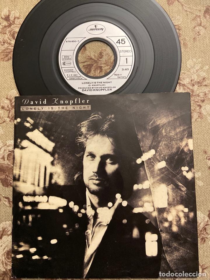 """DAVID KNOPFLER VINILO 7"""" (Música - Discos de Vinilo - Singles - Pop - Rock Internacional de los 80)"""