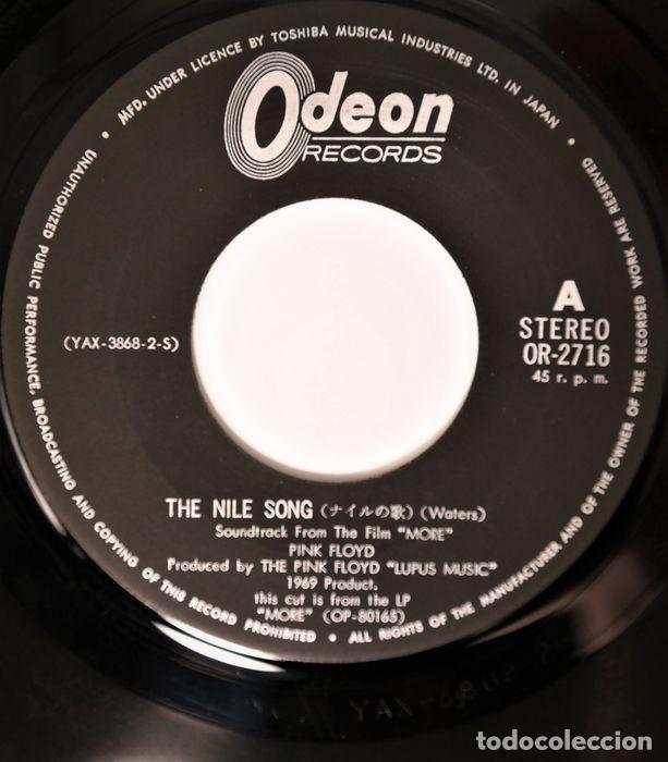 Discos de vinilo: Pink Floyd - The Nile Song / Main Theme - 7″-Single - 1970 - Foto 2 - 242244975