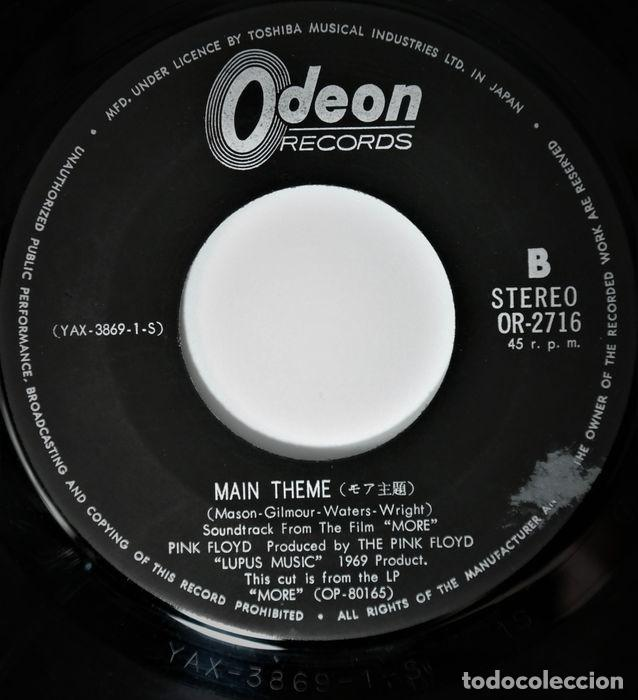 Discos de vinilo: Pink Floyd - The Nile Song / Main Theme - 7″-Single - 1970 - Foto 7 - 242244975