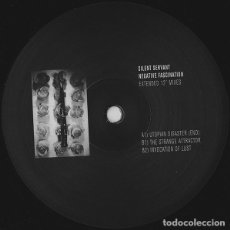 "Discos de vinilo: SILENT SERVANT - NEGATIVE FASCINATION (EXTENDED 12"" MIXES) - 12"" [HOSPITAL PRODUCTIONS, 2012] TECHNO. Lote 242245460"