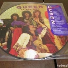 Discos de vinilo: QUEEN - PICTURE DISC - BBC - EDICION LIMITADA US - MERCURY - BRIAN MAY. Lote 242246115