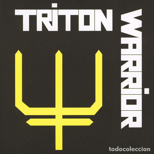 "TRITON WARRIOR - SATAN'S TRAIN / SEALED IN A GRAVE - 7"" [SUPREME ECHO, 2014 · #107/500] ROCK METAL (Música - Discos - Singles Vinilo - Heavy - Metal)"
