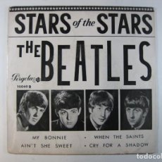 Disques de vinyle: EP THE BEATLES · STAR OF THE STARS (PERGOLA, 1965) [DISCO MÍTICO EN MUY BUEN ESTADO]. Lote 242251475