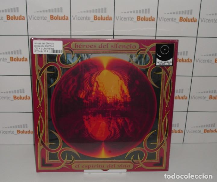 HEROES DEL SILENCIO EL ESPÍRITU DEL VINO (CD + 2 LPS VINILO) NUEVO Y PRECINTADO ENVIÓ ESPAÑA GRATIS (Música - Discos - LP Vinilo - Grupos Españoles de los 90 a la actualidad)