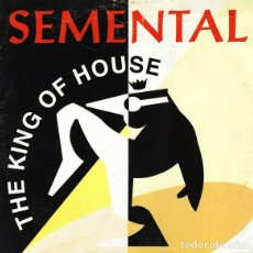 """Dischi in vinile: THE KING OF HOUSE - SEMENTAL (12"""") (1994/ES). Lote 242256225"""