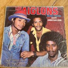 Discos de vinilo: VINILO LES AIGLONS / DIRECTION: D'ALEXIS / JOUENT CHRISTIAN LÉON. Lote 242281675