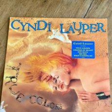 Discos de vinilo: VINILO-LP CYNDI LAUPER TRUE COLORS. Lote 242287955
