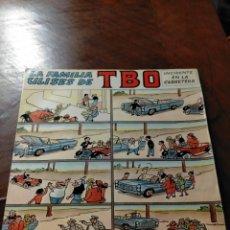 Discos de vinilo: ANTIGUO DISCO VINILO LA FAMILIA ULISES DE TBO - INCIDENTE EN LA CARRETERA 1968. Lote 242288355
