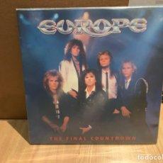 Discos de vinilo: EUROPE – THE FINAL COUNTDOWN. DISCO VINILO NMINT/NMNT. 1986. Lote 242298455