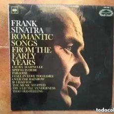 Discos de vinilo: FRANK SINATRA - ROMANTIC SONGS FROM THE EARLY YEARS (LP) 1966. Lote 242303950