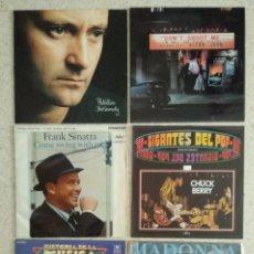Disques de vinyle: VINILOS LOTE ROCK + POP + SINATRA - ELTON JOHN / MADONNA / PHIL COLLINS / E. CLAPTON / CHUCK BERRY. Lote 242308890