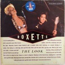 Discos de vinilo: ROXETTE, THE LOOH (HEAD-DRUM MIX),ESPAÑA 1989, HISPAVOX 052-1363336 (G+_VG+). Lote 242309835