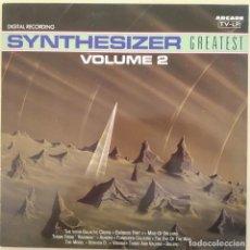 Discos de vinilo: ED STARINK - SYNTHESIZER GREATEST VOLUME 2, ESPAÑA 1991, ARCADE– 02 4020 21 (NM_NM). Lote 242313835