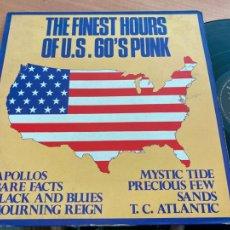Disques de vinyle: THE FINEST HOURS OF U.S 60'S PUNK LP 12039 (B-22). Lote 242338390