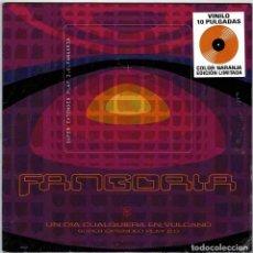 Disques de vinyle: FANGORIA - UN DÍA CUALQUIERA EN VULCANO. SUPER EP 2.0. EDICIÓN LIMITADA 10 PULGADAS (PRECINTADO). Lote 242353715