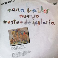 Discos de vinilo: NUEVO MESTER DE JUGLARIA - PARA BAILAR - MAXI SINGLE DE DE VINILO POTPOURRI CANCIONE INFANTILES #. Lote 242373635