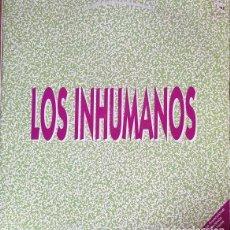 Discos de vinil: LOS INHUMANOS - ALELUYA MIX + 5 - MAXI SINGLE DE DE VINILO PROMOCIONAL #. Lote 242375980