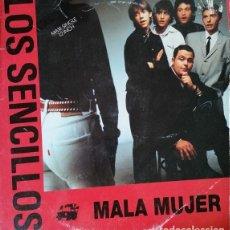 Discos de vinil: LOS SENCILLOS - MALA MUJER - MAXI SINGLE DE DE VINILO PROMOCIONAL #. Lote 242376465