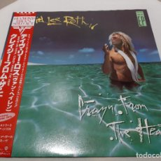 """Discos de vinilo: DAVID LEE ROTH -CRAZY FROM THE HEAT- (1985) EP 12"""". Lote 242377215"""