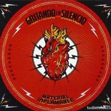 Discos de vinilo: GRITANDO EN SILENCIO LP VINILO 180G +CD * MATERIAL INFLAMABLE * LTD PRECINTADO!!!. Lote 242386970