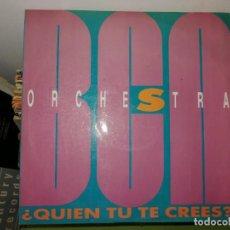 Discos de vinilo: LOTE 2 DISCOS. SIGMUND UND SEINE FREU(N)DE Y ORCHESTRA - QUIEN TU TE CREES. Lote 242414775
