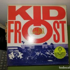 Discos de vinilo: DISCO VINILO. KID FROST. LA RAZA. Lote 242416150