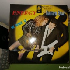 Discos de vinilo: LOTE 2 DISCOS. MCA RECORDS SLAM SLAM Y ENERGY BEAUTIFUL BALLET. Lote 242416475