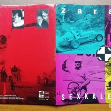 Discos de vinil: ZARAMA SEXKALEXTRIK LP ABIERTO 1991. Lote 242420215