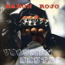Discos de vinilo: BARON ROJO VOLUMEN BRUTAL LP VINILO NUEVO. Lote 242420470