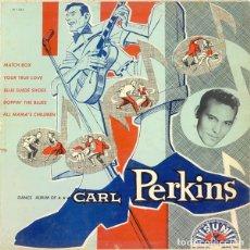 Discos de vinilo: CARL PERKINS DANCE ALBUM OF CARL PERKINS LP NUEVO PRECINTADO. Lote 242421230