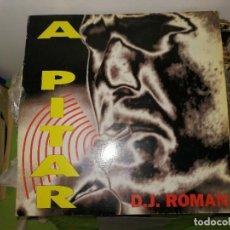 Discos de vinilo: LOTE 2 DISCOS. MODEM-MY GIRL Y D.J. ROMAN - A PITAR. Lote 242421500
