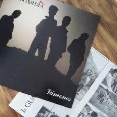 Discos de vinil: LA GUARDIA VÁMONOS VINILO LP POP ROCK AÑOS 90. Lote 242424050