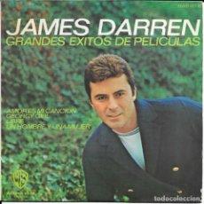 Discos de vinilo: JAMES DARREN GRANDES EXITOS DE PELICULAS AMOR ES MI CANCION. Lote 242436645