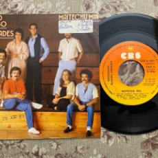 """Discos de vinilo: MOCEDADES Y PLÁCIDO DOMINGO VINILO7"""". Lote 242437595"""