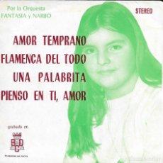 Discos de vinilo: ORQUESTA FANTASIA Y NARBO. Lote 242438505