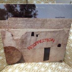 Discos de vinilo: DAVID BOWIE - RESURRECCIÓN - DOBLE LP EN VIVO ULTRA RARO 1984 USA.. Lote 242439130