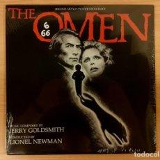 Discos de vinilo: THE OMEN (LA PROFECÍA) JERRY GOLDSMITH VARÈSE SARABANDE NUMERADO PRECINTADO VINILO BLANCO MUY RARO!!. Lote 242451545