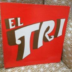 Discos de vinilo: EL TRI , PRIMER LP DE EL TRI ,EDICION ESPAÑOLA , ULTRA RARO , ROCK MEXICANO.. Lote 242454840