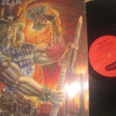 Discos de vinilo: UNCLE SLAM - SAY UNCLE +ENCARTE (CAROLINE 1988) OG USA LEA DESCRIPCION. Lote 242471740