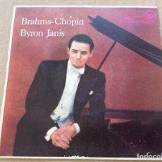 Discos de vinilo: BRAHMS-CHOPIN - BYRON JANIS. RCA 1959. Lote 242478770