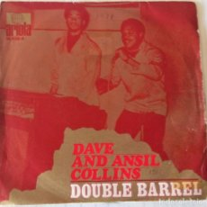 Dischi in vinile: DAVE AND ANSIL COLLINS - DOUBLE BARREL ARIOLA - 1970. Lote 242479425