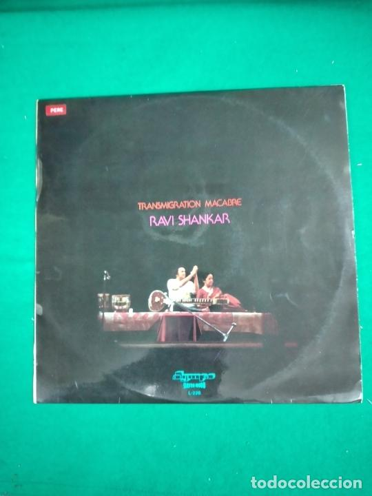 TRANSMIGRATION MACABRE. RAVI SHANKAR. LP OLIMPO L-226. (Música - Discos - LP Vinilo - Étnicas y Músicas del Mundo)