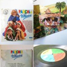 Disques de vinyle: ANTIGUO VINILO / OLD VINYL: PARCHÍS VILLANCICOS (LP 1980). Lote 242823375