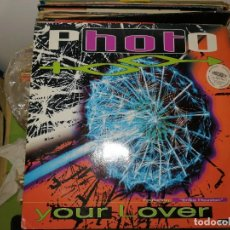 Dischi in vinile: LOTE 2 DISCOS. DATURA VOO-DOO BELIEVE Y PHOTO YOUR LOVER FEAT. ERIKA HOUSTON. Lote 242839600