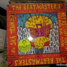 Discos de vinilo: DISCO DE VINILO. THE BEATMASTERS FEATURING BETTY BOO.HEY DJ/I CANT DANCE TO THAT MUSIC YOURE PLAYING. Lote 242850115