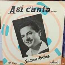 Discos de vinilo: ANTONIO MOLINA. Lote 242855535