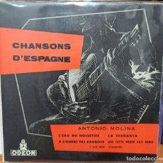 Discos de vinilo: ANTONIO MOLINA / IMPRESO EN FRANCIA. Lote 242855815