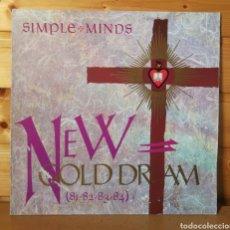 Disques de vinyle: LP ALBUM , SIMPLE MINDS , NEW GOLD DREAM , IMPORT. VIRGIN GERMANY. Lote 242857880