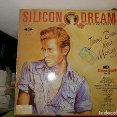 Discos de vinilo: DISCO VINILO. SILICON DREAM. LOVE -FILM PRESENT: JIMMY DEAN LOVED MARILYN. Lote 242860295